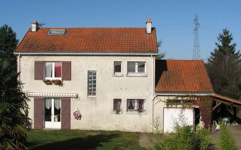 Isolation et enduit sur bardage de bois Vendée, Nantes, Loire Atlantique # Maison En Bois Vendée
