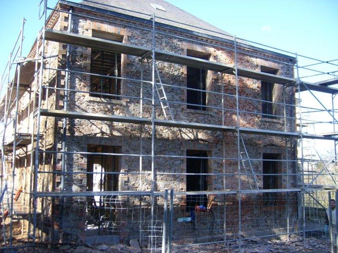 Restauration de la façade